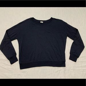Zara Collection W&B Cropped Sweatshirt